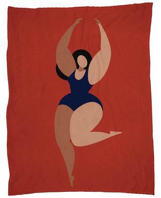 Fata Morgana Fleece Blanket