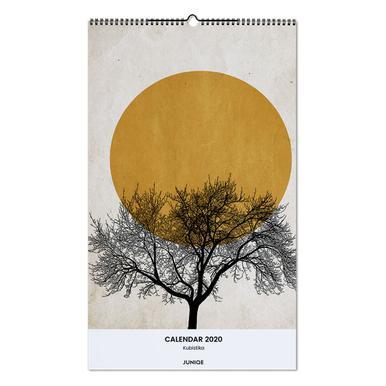 Wall Calendar 2020 - Kubistika wandkalender