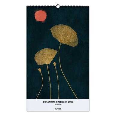 Botanical Calendar 2020 - Kubistika Wall Calendar