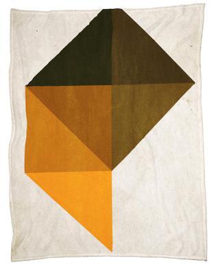 Trapez No.9 Fleece Blanket