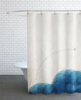 Wasserstudie Shower Curtain