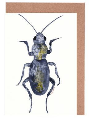 Hello Beetle Gratulationskort i satt