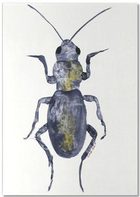 Hello Beetle Anteckningsblock