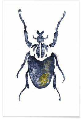 The Old Beetle Poster