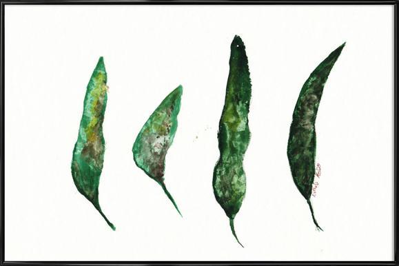 All My Leaves Poster i standardram