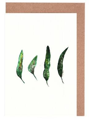 All My Leaves Gratulationskort i satt
