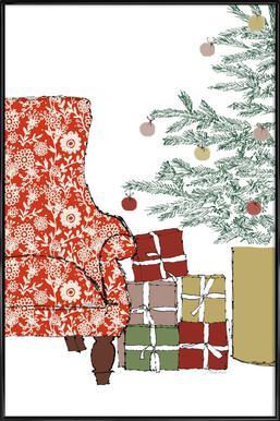 Happy Christmas Time Poster i standardram