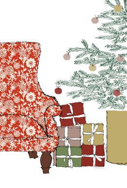 Happy Christmas Time Akrylglastavla