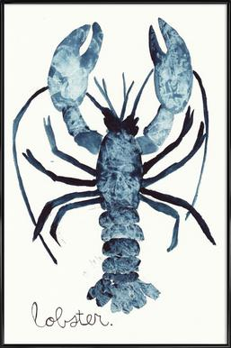 Lobster Framed Poster