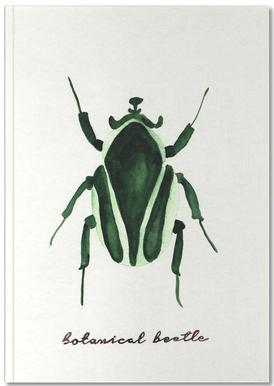 Botanical Beetle Notebook