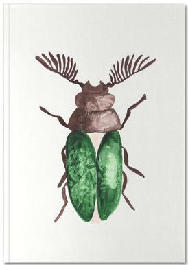 Greeny Beetle Notebook