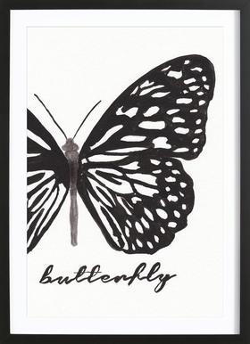 My butterfly Framed Print