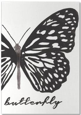 My butterfly Notepad