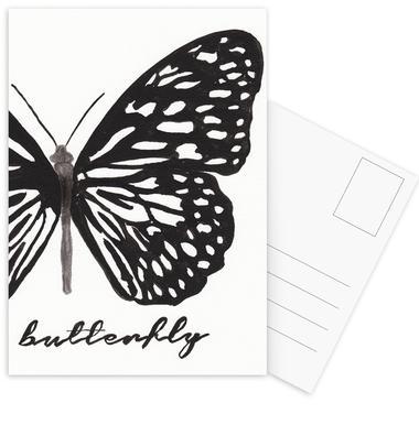 My butterfly Postcard Set