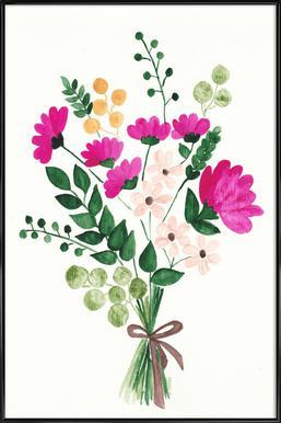 Bouquet Framed Poster
