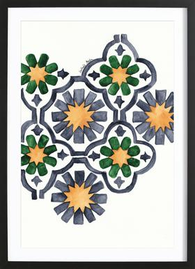 Morocco Lights Framed Print
