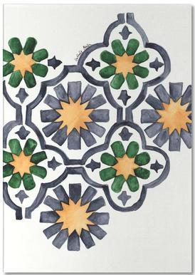 Morocco Lights Notepad