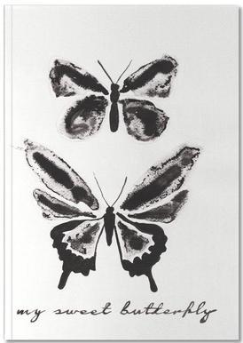 My sweet butterfly Notebook