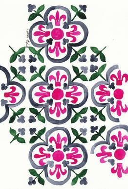 Morocco Love acrylglas print