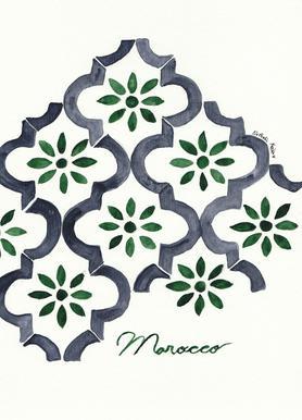 Morocco canvas doek