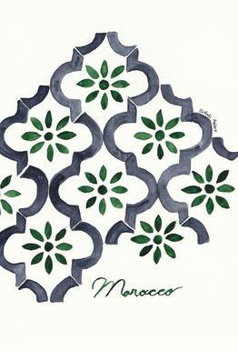 Morocco Aluminium Print