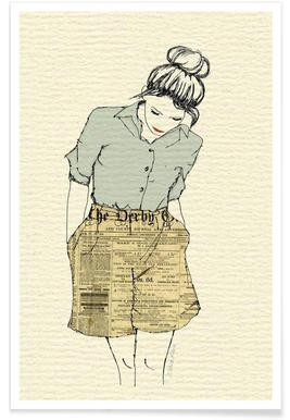 Newspaper Pants -Poster
