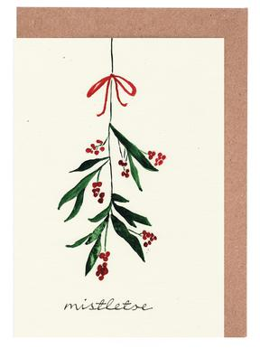 Mistletoe cartes de vœux