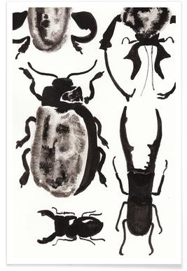 The beetles are on the loose -Poster