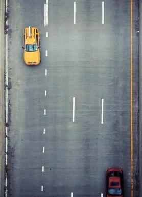 Chasing Cars Canvas Print