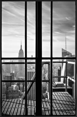 Window To The World ingelijste poster