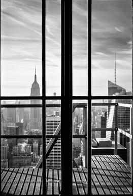 Window To The World Aluminium Print