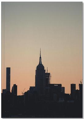 Empire State Silhouette Notebook