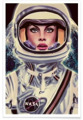 Le Cosmonaute - Premium poster