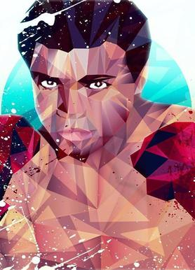 Courageous Ali Canvas Print