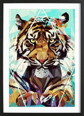 It Tiger Framed Print