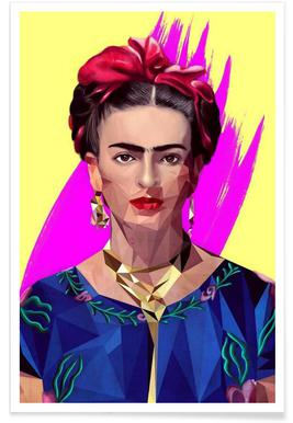 Modern Frida poster