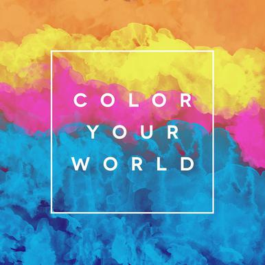Color Your World Acrylic Print