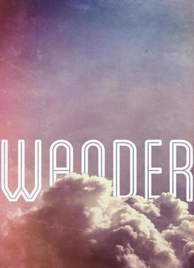 Wander -Leinwandbild