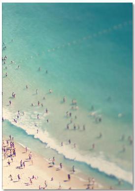 Beach Summer -Notizblock