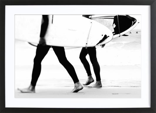 Catch a Wave I Framed Print