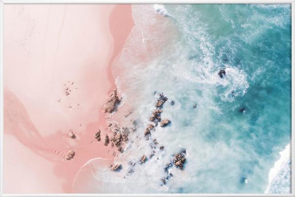 Sea Bliss - Poster im Kunststoffrahmen