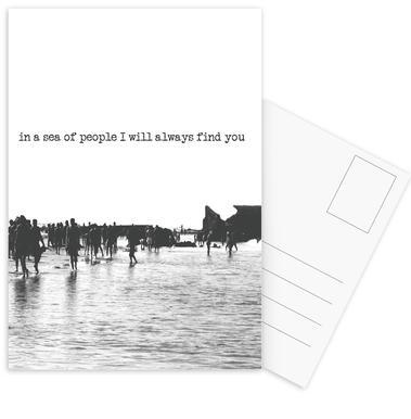 I'll Find You Postcard Set
