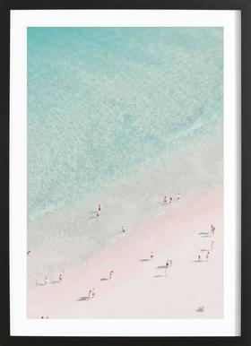 Beach Love ingelijste print