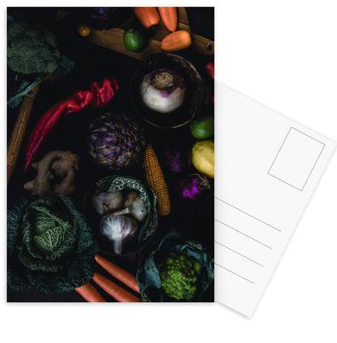 Artichoke Mix Postcard Set