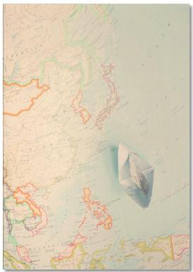 map-japan Notepad