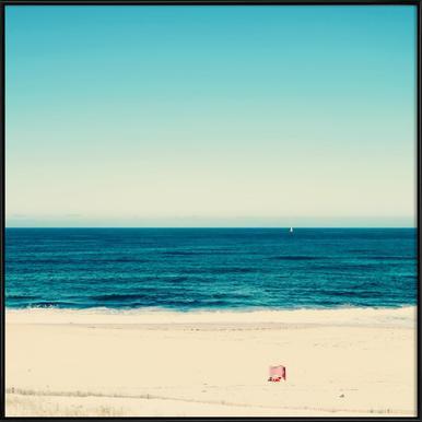 Beach Feeling ingelijste poster