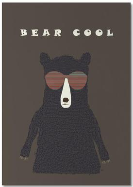 bear cool Notepad
