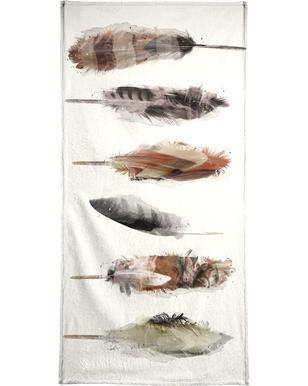 Free Fall Feathers Bath Towel