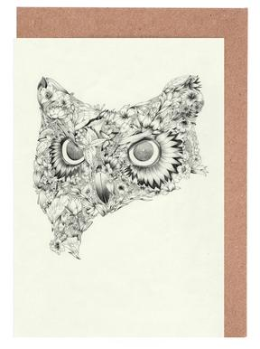 Owl Greeting Card Set