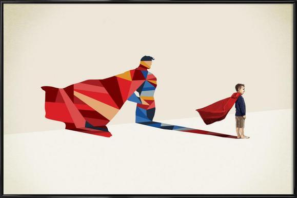 Walking Shadow - Hero 1 ingelijste poster